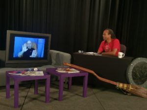 Gregory interviews Kelly on Con-Link
